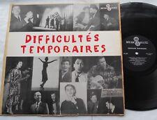 NORMAND HUDON (CARICATURISTE PEINTRE..) Grève de Radio-Canada QUEBEC LP 1959 No1