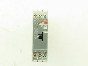ABB CT-ARE Off Delay Timer Electronic Time Relay 0.1-10 Sec