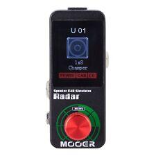 NEW Mooer Radar Speaker Cabinet Simulator Power Amp Micro Pedal