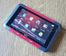 "NEW EVO RED 16GB MP3 MP5 MP4 PLAYER - DIRECT PLAY 3"" SCREEN VIDEO MUSIC + MORE"