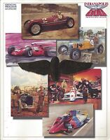 OFFICIAL 1992 INDIANAPOLIS MOTOR SPEEDWAY - RACE DAY PROGRAM