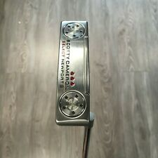 "SCOTTY CAMERON SELECT NEWPORT 2 34"" INCH PUTTER MENS RIGHT HAND + HEADCOVER"