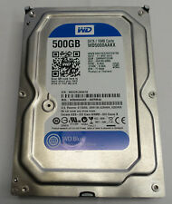 Western Digital WD5000AAKX 500GB Hard drive working but sold for spare parts