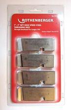 Rothenberger #00126/ Ridgid #47770  High Speed Steel Threading Dies 1-2 inch