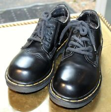Doc Martens Size 6 Black 4 Hole Made in England Lace up 9814