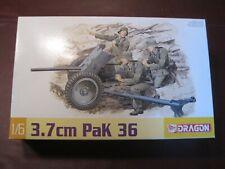 Dragon WWII GERMAN 3.7 cm Pak 36 Mortor Shell Howitzer #75002 1/6 SEALED