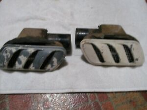 1955 LINCOLN ORIGINAL AIR REAR QUARTER SIDE VENTS BH-19884