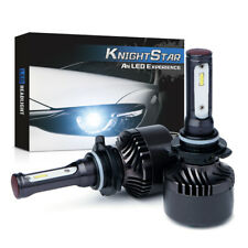 New CSP LED Xprite Knight Star 9005 H10 Q4 Series Headlight Conversion Kit 6000k