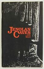 Jenolan Caves New South Wales Vintage book B T Dunlop 1977 history catalogue