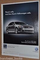 2011 Volkswagen Jetta advertisement, VW JETTA