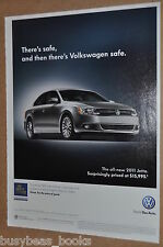 2011 Volkswagen Jetta advertisement, VW JETTA
