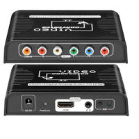 Component to HDMI Video Converter Adapter Ypbpr+Digital Coaxial to HDMI Stereo