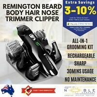REMINGTON Beard Hair Clipper Shaver Electric Trimmer Cordless Mens Nose Ear Body