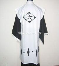 Bleach 6th Division Captain Kuchiki Byakuya Cosplay Costume Set