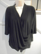 CORDELIA ST SIZE 24 BLACK EVENING SPECIAL OCCASION TOP