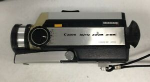 Canon Auto Zoom 318M Super 8 With Cannon Bag #202