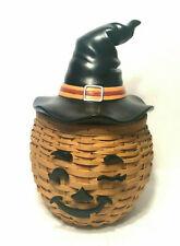 Longaberger Halloween Winky Witch Kin Hat Basket Protector