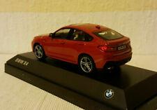 Kyosho 1:43 BMW X4,rot,Dealermodell,Hauben zu öffnen,neuwertig in OVP