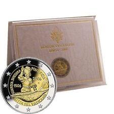 Pièces euro du Vatican année 2006