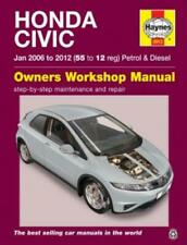 Haynes Workshop Manual Honda Civic 2006-2012 Service Repair Petrol Diesel