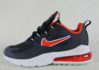 New Nike Air Max 270 React in Midnight Navy/Chile Red Colour Size US 8