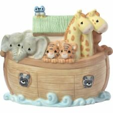 Precious Moments Overflowing with Love Noah's Ark Top Slot Porcelain Nursery D.