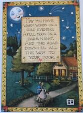 Mary Engelbreit Artwork-May You Have-Handmade Magnet