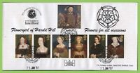 G.B. 1997 The Great Tudors official Havering First Day Cover, Harold Hill