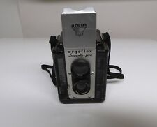 Argus Argoflex 75MM, 620 Film Box Camera, Bakelite Case, Nice Collectible!!