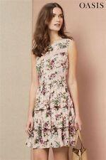 Oasis Skater Sleeveless Everyday Dresses for Women