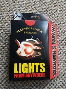 Marvin's Magic Lights From Anywhere Adult Tricks Set Professional Magic Made