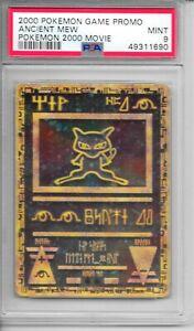 Pokemon PSA 9 MINT Ancient Mew 2000 Movie Game Promo Holo Card - FLAWLESS