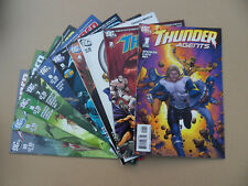 T.H.U.N.D.E.R  Agents 1 - 10 . Lot Complet . DC 2011 . VF