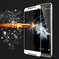 White Full Screen 9H Hardness Temper Glass Screen Protector for ZTE Axon7 A2017