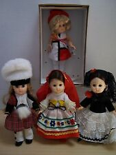 Lot of Vintage Ginny Dolls - Scotland, Mexico, Spain, & Miss Ginny 1960's