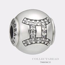 Authentic Pandora Essence Collection Silver Gemini Bead 796036CZ *LAST ONE*