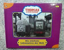 Thomas die kleine Lokomotive Eisenbahn Buch Die stärkste Lokomotive der Welt NEU