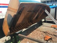 1969 Old Town Canoe Sport boat pulling boat rowing Outboard motor