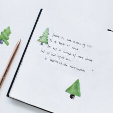 Little Forest Trees Adhesive Paper Stickers Scrapbooking Diary Kawaii Stationery