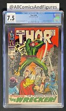 Thor #148 CGC 7.5 OW/WHITE PAGES! First Appearance Of The Wrecker! Stan Lee!