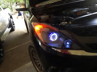 FRONT HEADLIGHT LAMP PROJECTOR CCFL ANGEL EYE XENON HID LED MAZDA BT50 PRO 12 13