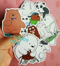 NEW WE BEAR BEARS STICKERS CARTOON NETWORK PARTY FAVORS SET OF 9 STICKERS #3