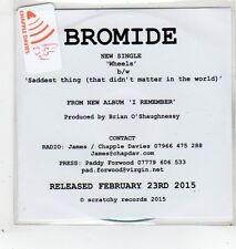 (GD168) Bromide, Wheels - 2015 DJ CD