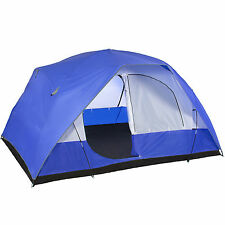 5 Person Camping Tent Family Outdoor Sleeping Dome Water Resistant W/ Carry Bag