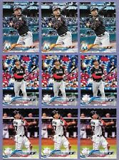 2018 Topps Series 1 Giancarlo Stanton  Lot of 9 cards in Near Mint Condition