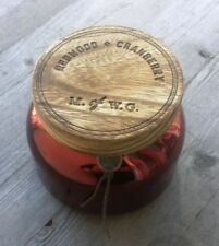 Makers of Wax Goods Redwood and Cranberry Candle 18.24 oz. - New