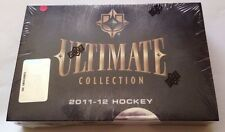 2011-12 2012 Upper Deck Ultimate Collection Hockey Hobby Box (Pack) Case Fresh