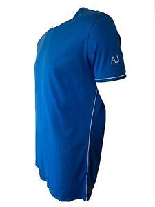 Armani Jeans Mens Blue Cotton Short Sleeve T Shirt Size 3XL