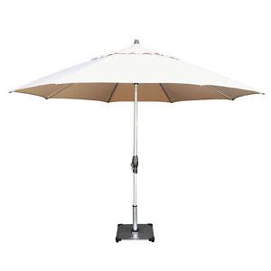 Shelta Fairlight 3.3m Oct Patio Market Outdoor Aluminium Umbrella Sandstone