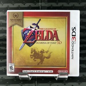 The Legend of Zelda: Ocarina of Time 3D - Nintendo Selects Edition - 3DS
